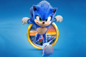 Sonic The Hedgehog 2020 4k