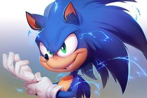 Sonic The Hedgehog 2020 4k Artwork Wallpaper