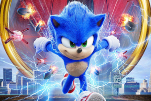 Sonic The Hedgehog 2020 Movie Wallpaper