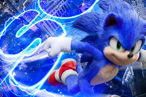 Sonic The Hedgehog 2020movie Wallpaper