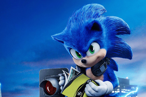 Sonic The Hedgehog 4k 2020 Movie Wallpaper
