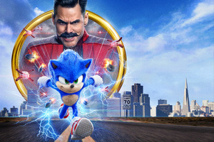 Sonic The Hedgehog Movie 8k