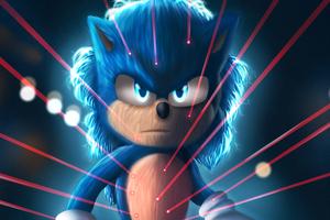 Sonic The Hedgehog4k Art Wallpaper