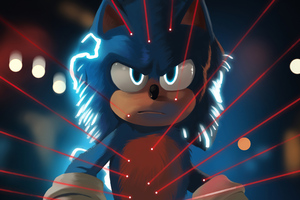 Sonic The HedgehogArt2020 Wallpaper