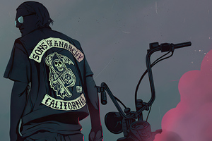 Sons Of Anarchy Poster Art 4k Wallpaper