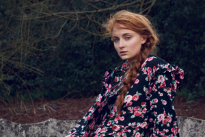 Sophie Turner Marie Claire Photoshoot 4k Wallpaper