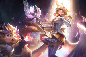 Soraka League Of Legends 8k Wallpaper