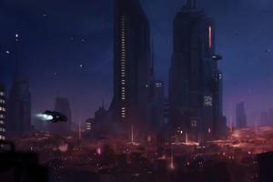 Space City 4k