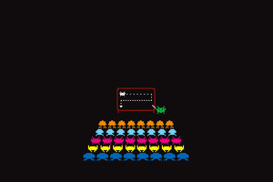 Space Invaders Wallpaper