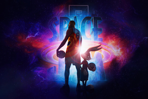 Space Jam A New Legacy Poster Wallpaper