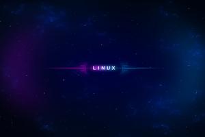 Space Linux 5k Wallpaper
