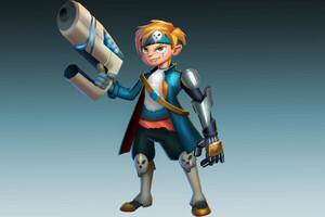 Space Pirate Boy Art Wallpaper