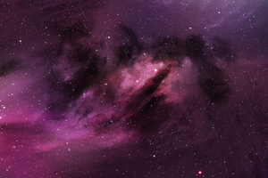 Space Purple Wallpaper