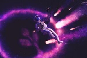 Space Suit Wallpaper