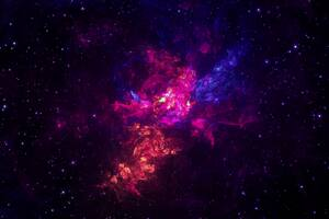 Space Universe Abstract Art Wallpaper