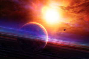 Spacescapes Scene Wallpaper