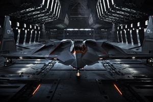 Spaceship Star Citizen 4k