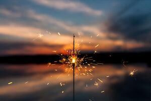 Sparkles Firework 4k