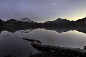 Sparks Lake Sunrise 4k