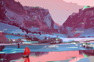 Sparth River Red 4k