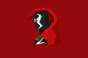Spawn Minimalism Wallpaper