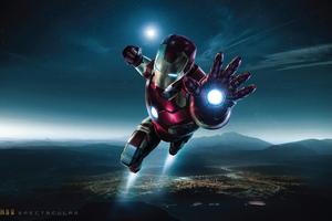 Spectacular Iron Man 4K Wallpaper