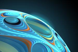 Sphere Apophysis 3d Fractal 4k