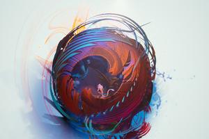 Sphere Creature 4k Wallpaper