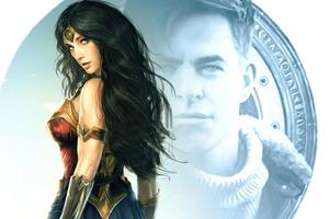 Spicy Wonder Woman Wallpaper