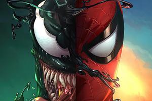 Spider And Venom 2020 Wallpaper