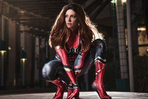 Spider Girl 4k