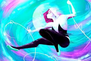 Spider Gwen 4k New Art