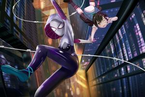 Spider Gwen 8k