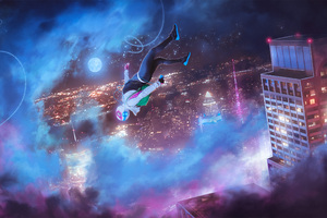 Spider Gwen Into The Spider Verse