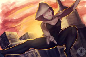 Spider Gwen Swing