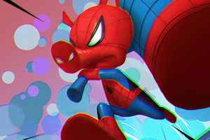 Spider Ham Spiderman 4k Wallpaper