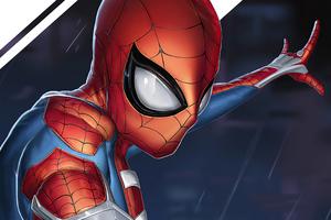 Spider Man 2020 4k Art Wallpaper
