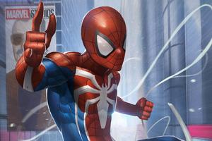 Spider Man 2020 Art 4k