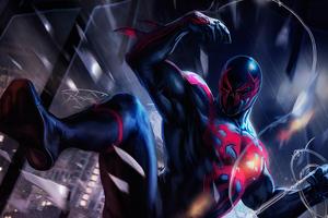 Spider Man 2099 4k