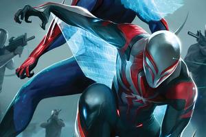 Spider Man 2099 Artwork 4k