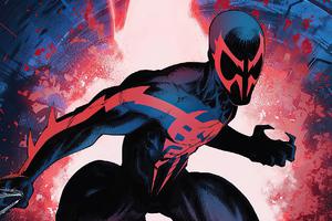 Spider Man 2099 Artwork