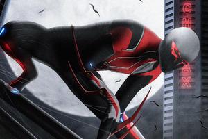 Spider Man 2099 Francesco Mattina Recreation