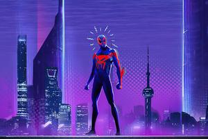 Spider Man 2099 Spider Verse Wallpaper