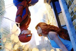 Spider Man And Gwen Wallpaper