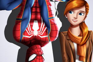 Spider Man And Mary Jane Watson