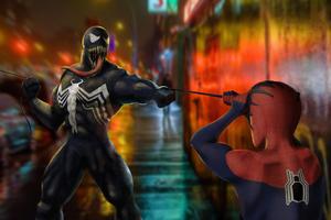 Spider Man And Venomart