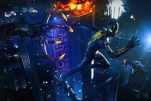 Spider Man Anti Ock Suit 5k
