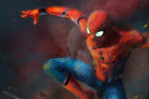 Spider Man Art 4k