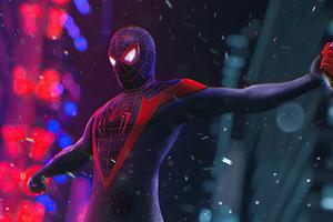 Spider Man City 4k Wallpaper