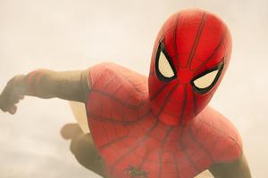 Spider Man Closeup Artwork